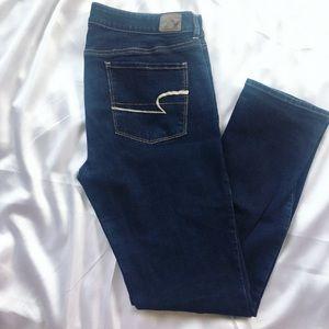 {American Eagle} Dark Super Skinny Stretch Jeans